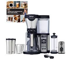 Ninja is a popular name when it comes to coffee bars. Ninja Coffee Bar Carafe Frother Grinder Cups Mugs Refurbished