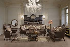 Ornate Leather Sofa Set HD  Star Modern Furniture - All leather sofa sets