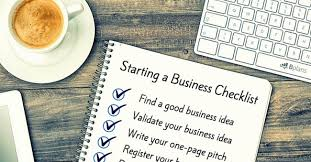 how to start a business the ultimate checklist  bplans blog  bplans business startup checklist
