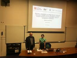 Поздравляем с успешной защитой диссертации на соискание ученой  01 декабря 2017г в Университете Ле Ман Франция состоялась успешная защита диссертации на соискание ученой степени phd in computer science аспиранткой
