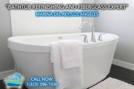 marina del rey bathtub refinishing reglazing