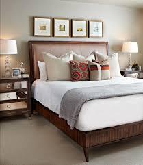 Mirrored Night Stands Bedroom Dazzling Mirrored Nightstands Look Denver Transitional Bedroom