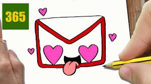 Comment Dessiner Gmail Logo Amour Kawaii Tape Par Tape Dessins