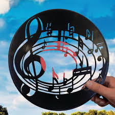Record Gifts Music Gifts For Him Made Of Vinyl Record Music Notes Music Wall