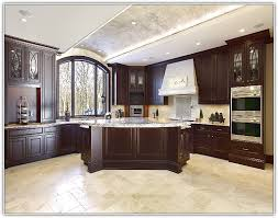 kitchens with dark cabinets and tile floors. Simple With Dark Kitchen Cabinets With Tile Floor On Tiles Textu For Kitchens And Floors H