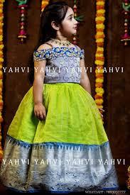 Indian Baby Girl Lehenga Designs Pinterest Achyi Kids Frocks Design Kids Blouse Designs