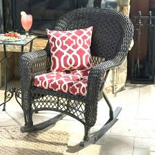 outdoor wicker rocking chairs with cushions. cushions for outdoor rocking chairs get geometric with on trend rocker . wicker g