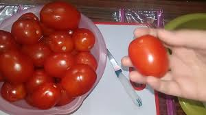 اكتر طريقة بنعتمدها في تفريز الطماطم الحقي خزني قناه يومياتي أنا