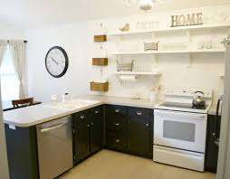 Kitchen Cabinets Remodel Simple Remodelaholic Kitchen Remodel Removing Upper Cabinets For Shelving