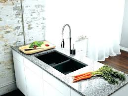 equal double bow blanco silgranit sinks blancoclean sink cleaner collection