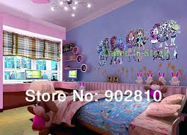 large monster high wall decals with monster high wall decals listed in stock monster high children room wall stickers self adhesive wallpaper monster high
