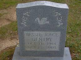 Bessie Hilton Joyce Gentry (1901-2003) - Find A Grave Memorial
