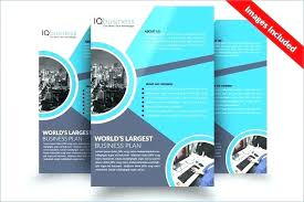 2 Page Brochure Template Word
