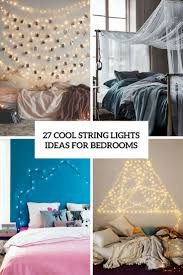 How To String Lights In Bedroom String Lights Bedrooms Archives Digsdigs