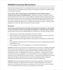 Sample Meeting Notes Meeting Notes Template 28 Free Word Pdf Documents Download