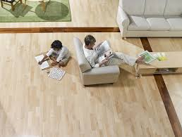 Natural light wood floor Birch Noco Hardwood Floor Design Products Installation Services
