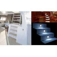 10 new led square marine courtesy light rv caravan boat ship onboard cabin deck lighting cw
