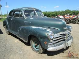 1948 CHEVROLET FLEETMASTER COUPE 2 DOOR COOL AMERICAN EASY PROJECT