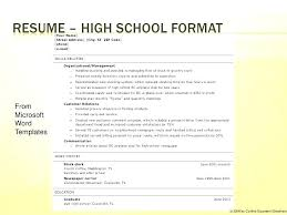 Teenage Cv Resume Templates For Word Two Page Template Pages Format