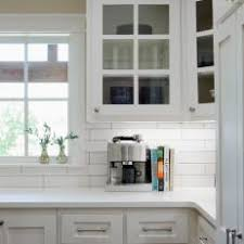 beautiful white french kitchens. Renovated Kitchen With French Door Glass Front Cabinets Beautiful White Kitchens
