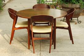 bold and modern teak dining room chairs 17