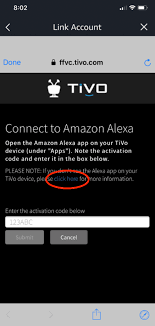 to pair additional tivo devices select manage and link devices in the tivo skill then choose link another device