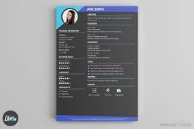 Contemporary Cv Template Filename Elsik Blue Cetane