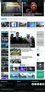 Website Template Newspaper Online News Website Template Free Positive Is Clean