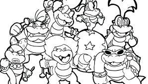 Printables Coloring Dcp4 Super Mario Bros Coloring Pages Printables