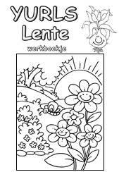 Yurls Werkboekjes Werkboekjesyurlsnet Groep 3 4 Lente