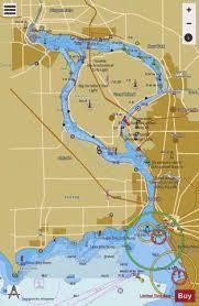 Upper Niagara River Marine Chart Us14832_p1156