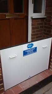 garage door flood barrierFlood Barriers Installed by Stormguard Floodplan