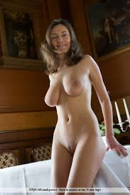 Ashley Spring nude on the table