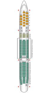 Business A340 300 Air France Seat Maps Reviews