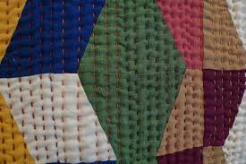 Big stitch hand quilting!   Quilting Your Quilts   Pinterest ... & Big stitch hand quilting! Adamdwight.com
