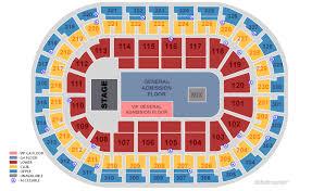 Chesapeake Arena 3d Seating Chart 74 Unbiased Thunder Stadium Seating Chart