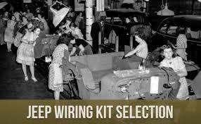 m v spares jeep wiring kit selection m v spares blog