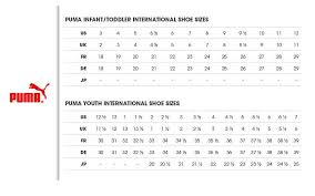 Puma Soccer Cleats Size Chart Sale Up To 38 Discounts