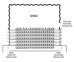 Uis Performing Arts Center Seating Charts