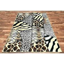 leopard print area rug animal whole rugs depot zebra cowhide 8x10 amazing