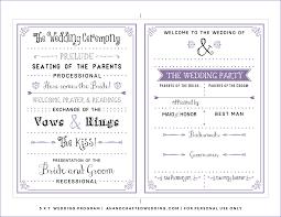 wedding program template laveyla com programs templates wedding program template printable