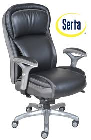 serta at home smart layers premium elite manager chair with air in bliss black bonded leather home furniture home office furniture office desk bliss office chair black