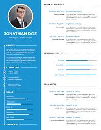 Resume About Me Resume Templates