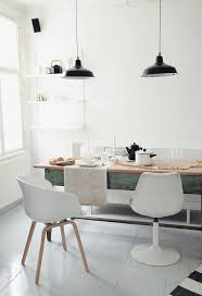 scandinavian design furniture ideas wooden chair. black hanging lamp white stained wall ceramic floor rustic chair glass window wooden table scandinavian design furniture ideas