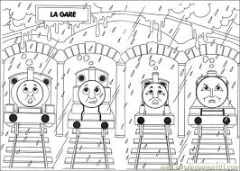 Small Picture Thomas And Friends 10 Coloring Page Free Thomas Friends Coloring