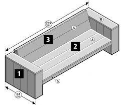 assembly methods for wooden benches homemade with scaffolding planks