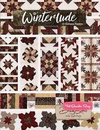 Winterlude Quilt Book Antler Quilt Design #AQD-0408 | Fat Quarter Shop & Hover to zoom Adamdwight.com