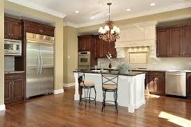 dark wood kitchen cabinets. Interesting Dark Medium Wood Kitchen Cabinet Design Paint Oak  Cabinets On Dark