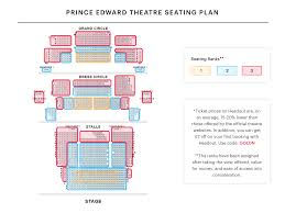 Metro Radio Arena Seating Chart Prince Edward Theatre Seating Plan Watch Aladdin London At