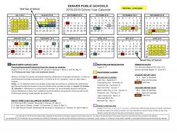 2018-19 School Calendar Approved | Denver Public Schools